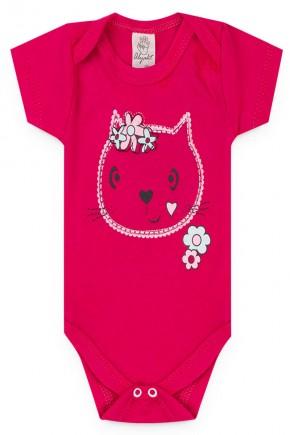 body pink gato menina