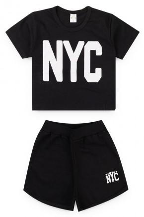 conjunto juvenil menina short camisa 2