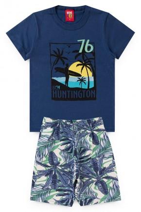 conjunto bic azul piradinhos praia
