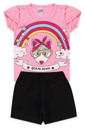 conjunto rosa glam piradinhos