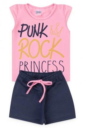 conjunto rosa princess piradinhos